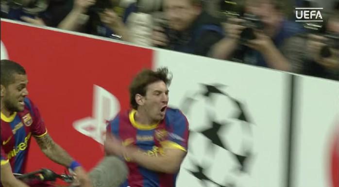 Messi Barcelona Manchester United