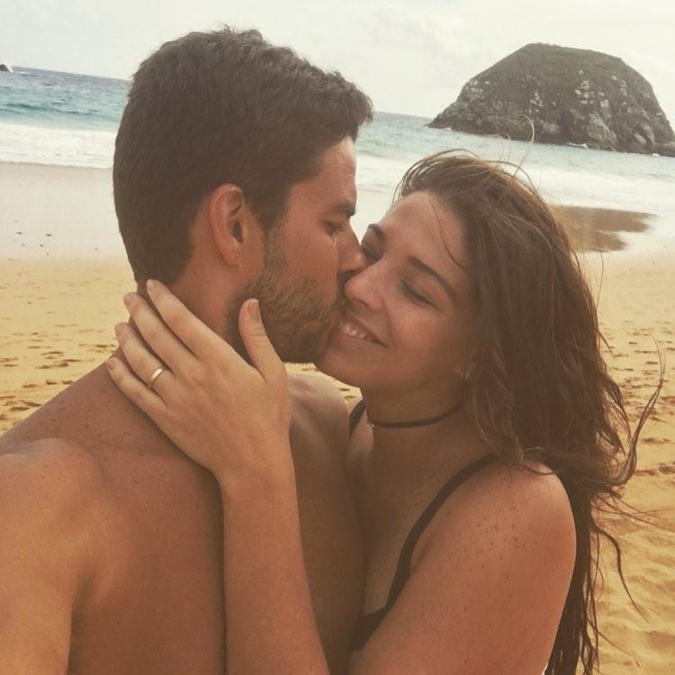 Luma e o marido (Foto: reprodução/Instagram)