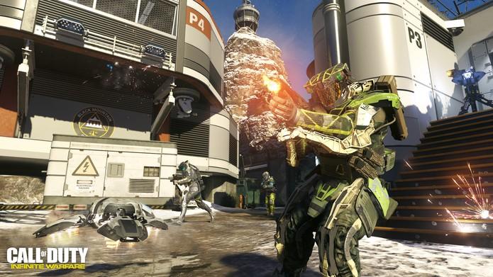 Call of Duty Infinite Warfare rodará bem no PS4 Pro (Foto: Divulgação/Activision)