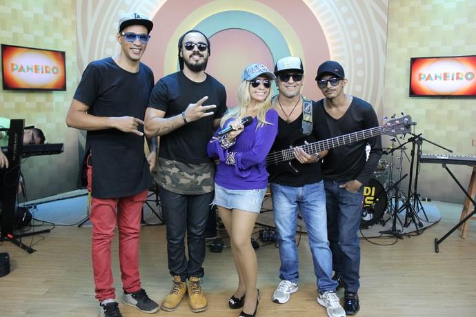 Banda Impakto faz sucesso na região Norte (Foto: Katiúscia Monteiro/ Rede Amazônica)