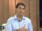 Eduardo Braide e Valdeny Barros  são entrevistados na TV Mirante