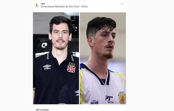 Sósias? NBB compara pivôs do Vasco e do S. José Basquete em rede social