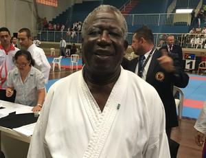 José Carlos de Oliveira, carateca de Presidente Prudente (Foto: Ronaldo Nascimento / GloboEsporte.com)