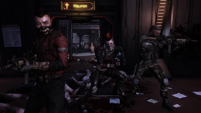 Trabalho em equipe faz maravilhas em Killing Floor 2 (Foto: Divulgação)