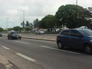 PRF registrou duas mortes nas rodovias federais no Carnaval (Foto: Gioras Xerez/G1 Ceará)