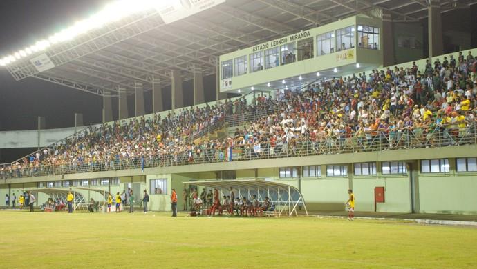 Estádio Mirandão, em Araguaína (Foto: Lucas Ferreira/TV Anhanguera)