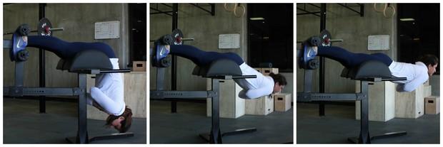 montagem mulher abdominal eu atleta (Foto: Sandro Gama)