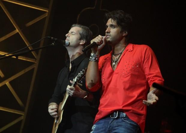 A dupla Victor e Léo se apresentou no Citibank Hall, na Barra da Tijuca, Zona Oeste do Rio de Janeiro. (Foto: GRAÇA PAES/ FOTO RIO NEWS)