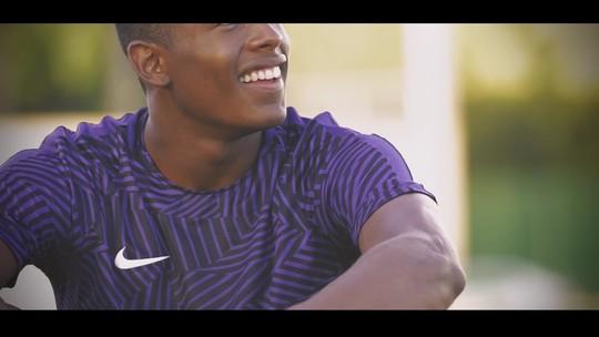 Paulo André: veto no futebol abre portas para seguir passos do pai velocista
