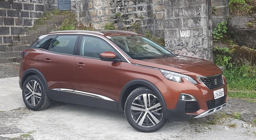 Peugeot 3008 (Foto: André Paixão / G1)