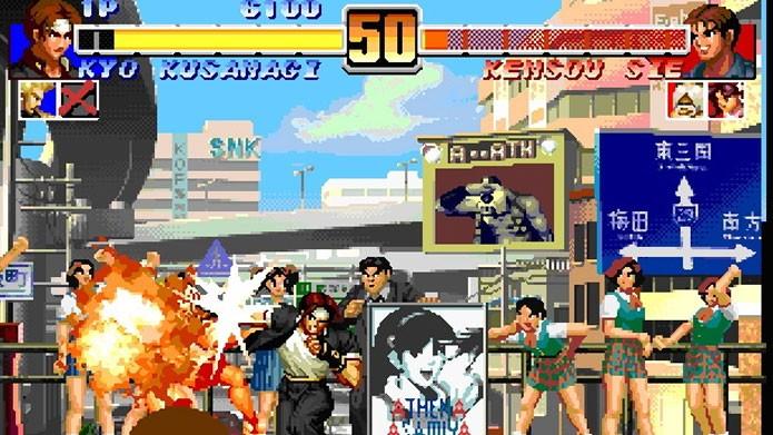 King of Fighters Collection - The Orochi Saga traz os cinco primeiros jogos da série (Foto: Divulgação)