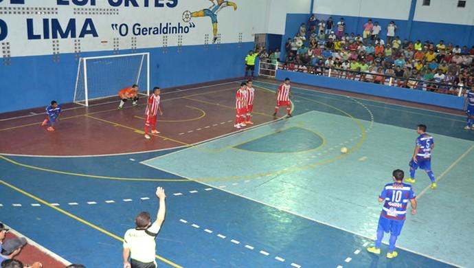 Vitória x Náutico - Copa PE de Futsal 2015 (Foto: Michell Santana)