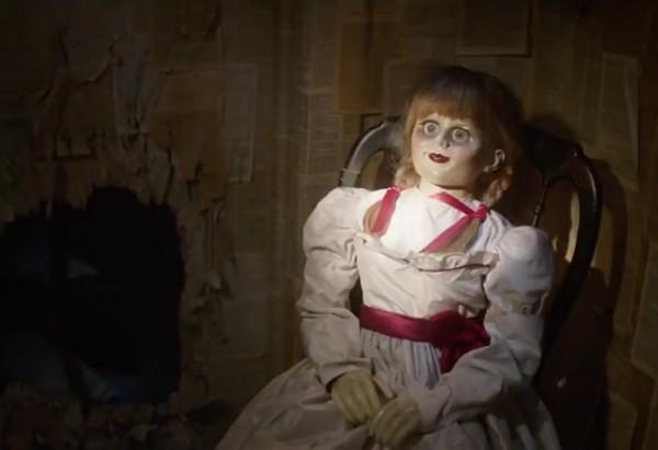 Uma cena do próximo filme estrelado pela boneca Anabelle (Foto: Reprodução)