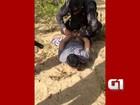 GOE recaptura preso que escapou na maior fuga do RN; veja vídeo