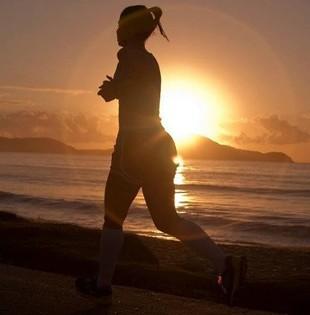 Corrida de rua sol verão (Foto: Divulgação / Nike)