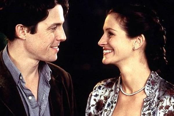 Além de formar um bom par com Richard Gere,Julia Roberts também mostrou química com o ator Hugh Grant em 'Um Lugar Chamado Notting Hill' de 1999. (Foto: Divulgação)