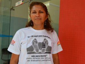 Gilvani denuncia problemas que os petroleiros enfrentam durante o trabalho (Foto: Marina Fontenele/G1 SE)