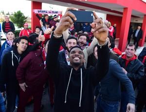 Eto'o selfie Antalyaspor