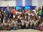 Projeto 'Amigos da TV Clube' recebe alunos da Escola Lírio dos Vales