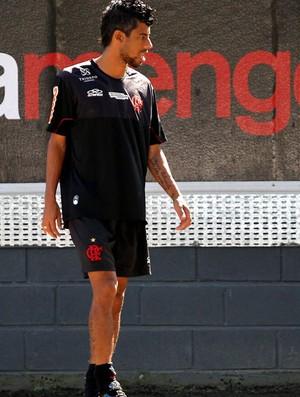 leo moura flamengo treino (Foto: Cezar Loureiro / Agência O Globo)