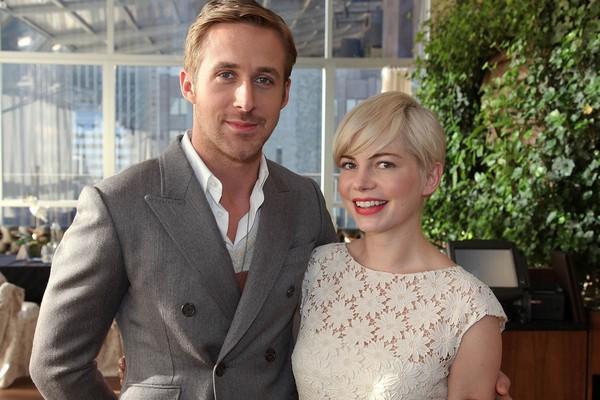 Michelle Willams e Ryan Gosling moraram juntos durante as gravações de 'Blue Valentine' para terem a experiência de um casal de verdade. (Foto: Getty Images)