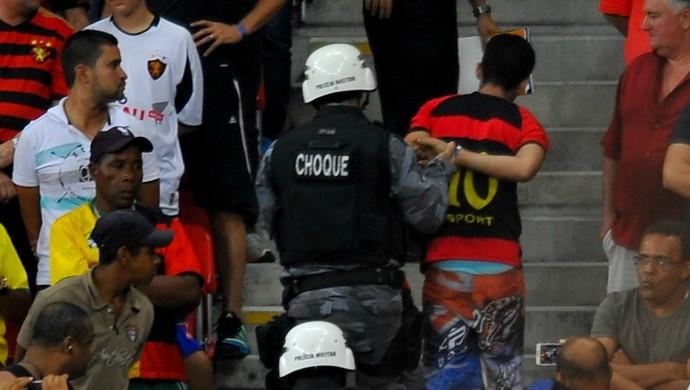 Torcedor do Sport (Foto: Aldo Carneiro/Pernambuco Press)