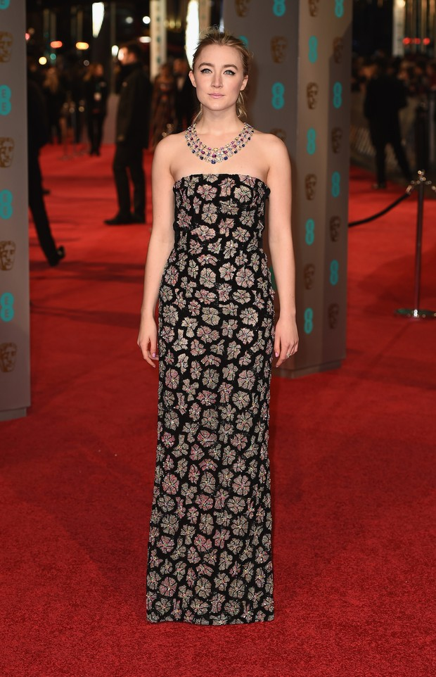 Saoirse Ronan no BAFTA (Foto: Getty Images)