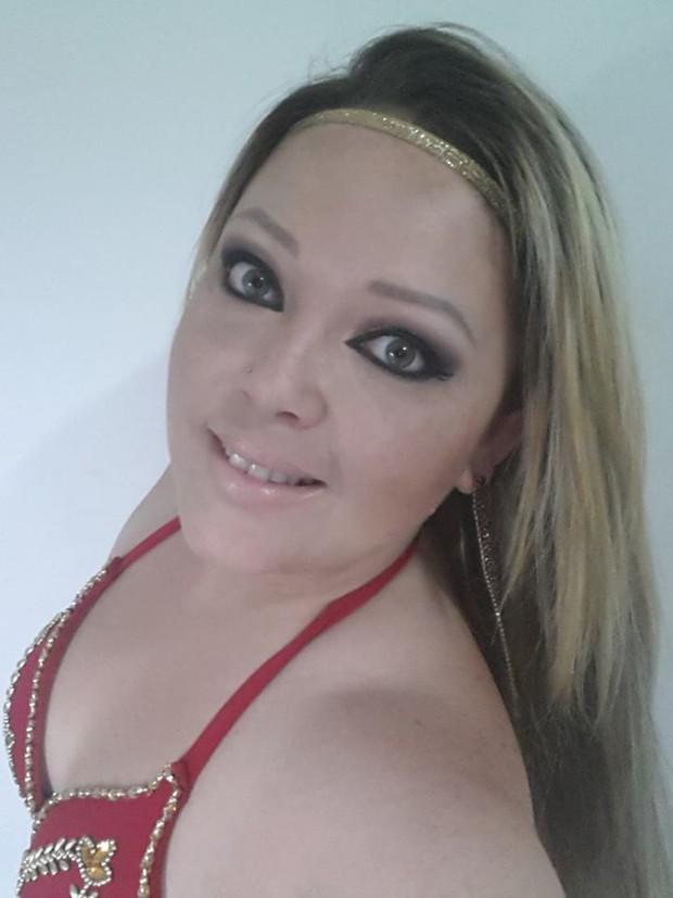 Luciene Solera, irmã de Amanda Djehdian (Foto: Facebook / Reprodução)