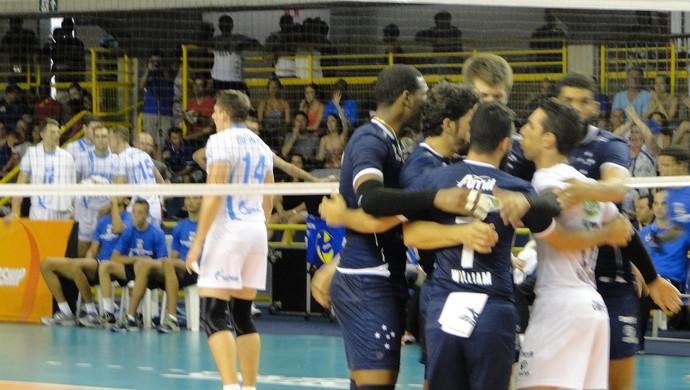Cruzeiro x Zenit Kazan, Mundial de vôlei (Foto: Rafael Araújo)