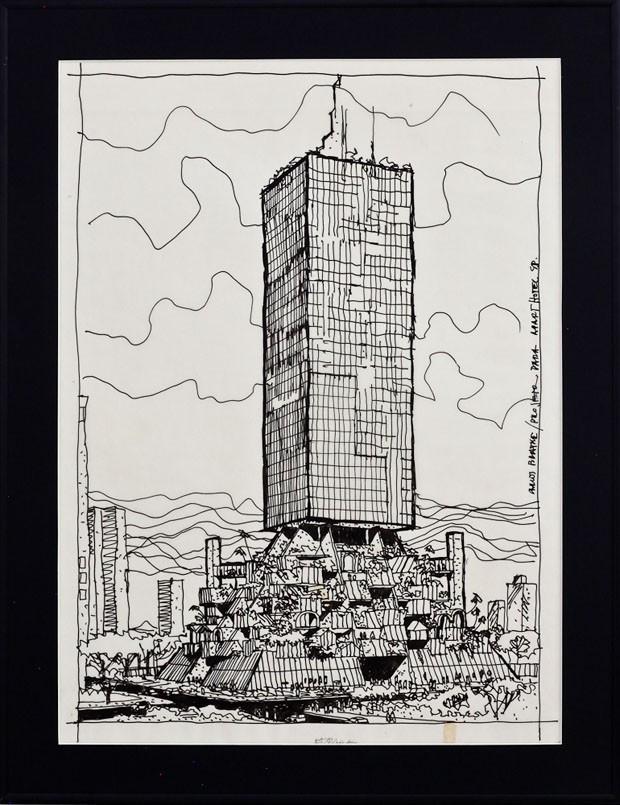 Edifício A Rua Mário Ferraz, 1981, Carlos Bratke (Foto: divulgação)