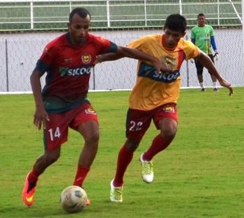 Volantes Renato e Wilson, do Galvez (Foto: Duaine Rodrigues)