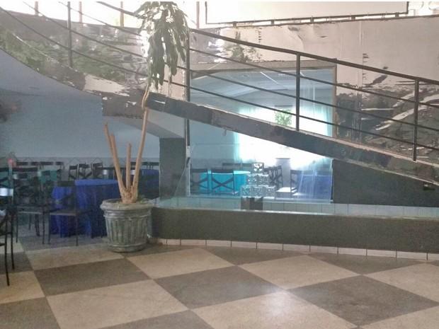 Moradora da Zona Norte está alugando salão de festas para o período olímpico  (Foto: Arquivo Pessoal/Verônica Borges)