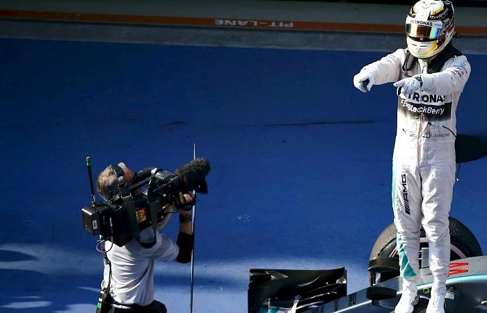 Lewis Hamilton vitória China