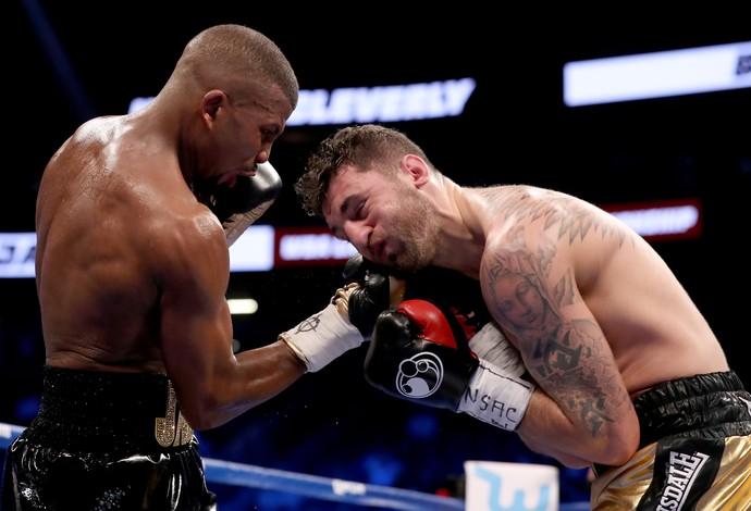 Badou Jack castiga  Nathan Cleverly e ganha o cinturão meio-pesado em Las Vegas  (Foto: Getty Images)