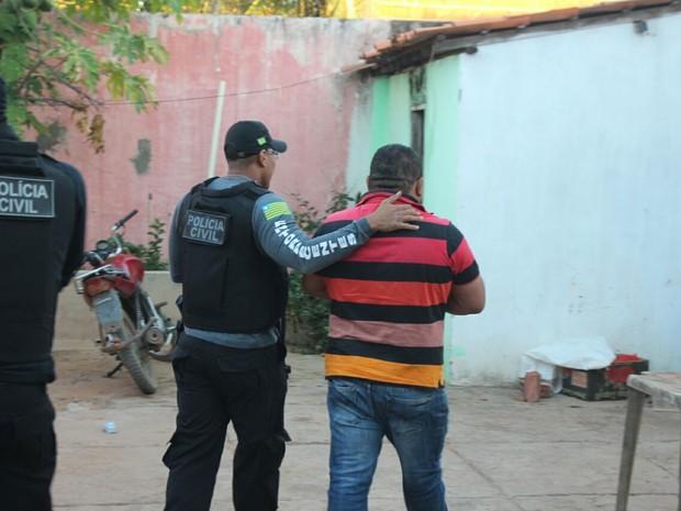 Prefeito e empresários são presos em operação contra corrupção no Piauí (Foto: Ellyo Teixeira/ G1)