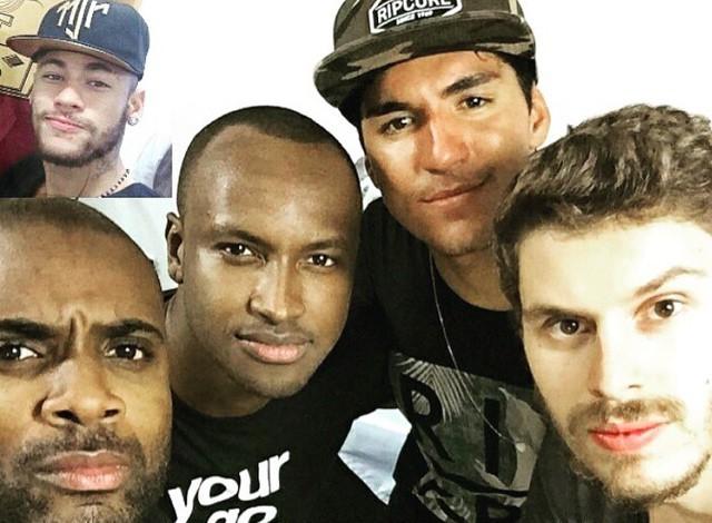 74d12307bd7 Neymar posta foto com Medina
