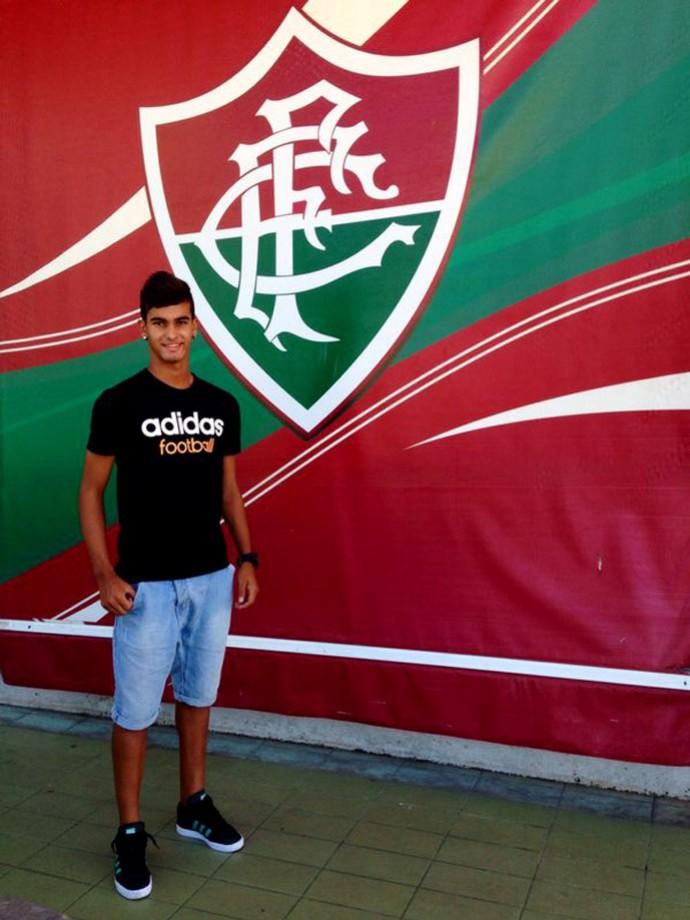 Luan Fluminense (Foto: Richard Souza)