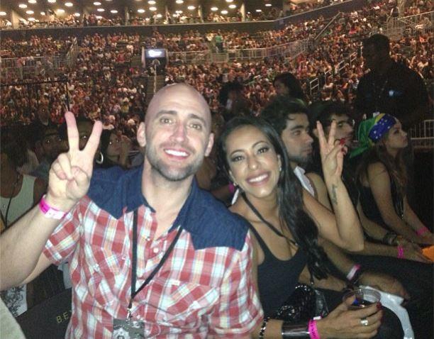 Paulo Gustavo e Samantha Schmütz no show da Beyoncé (Foto: Instagram/Reprodução)