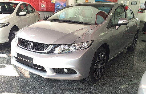 Honda Civic 2015 (Foto: Guilherme Blanco Muniz/Autoesporte)