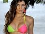Kamilla Salgado exibe corpo sequinho em foto de biquíni