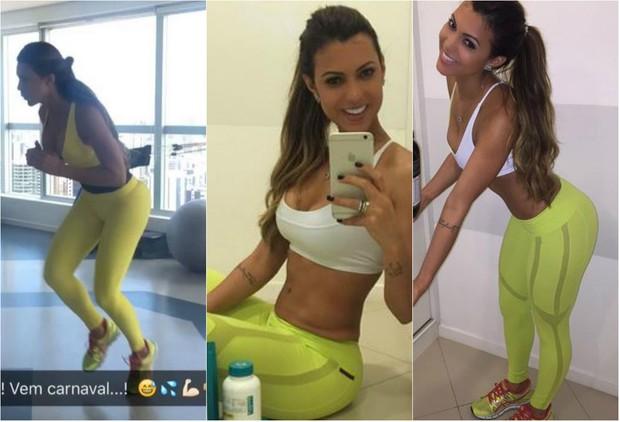 Vina Calmon fala sobre corpo: Tenho 70 cm de cintura e 102 cm de quadril (Foto: Reprodução do Instagram)