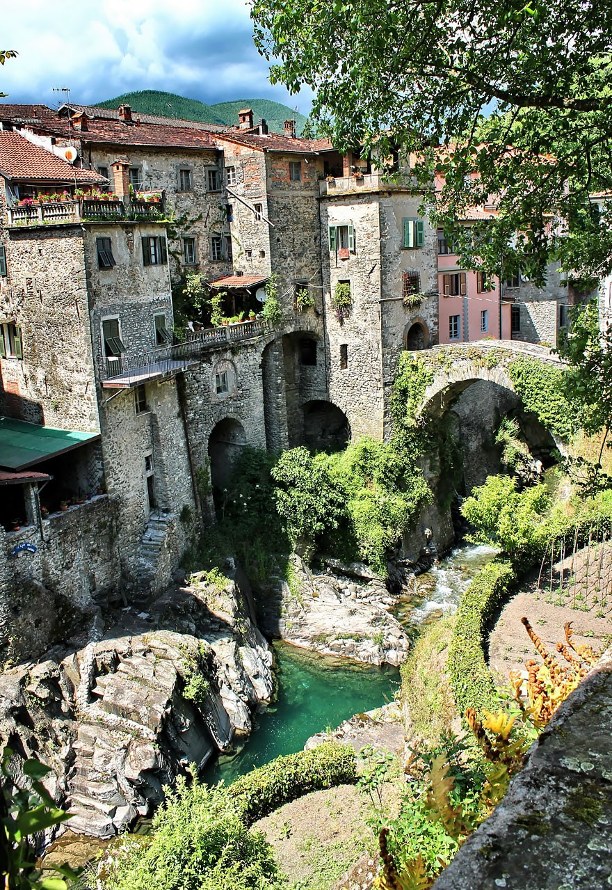 Bagnone, na Itália (Foto: Divulgação)