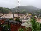 Chuva intensa provoca transtornos no Sul do Rio de Janeiro