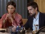 César e Alice apresentam proposta de investimento, e Tanaka recusa