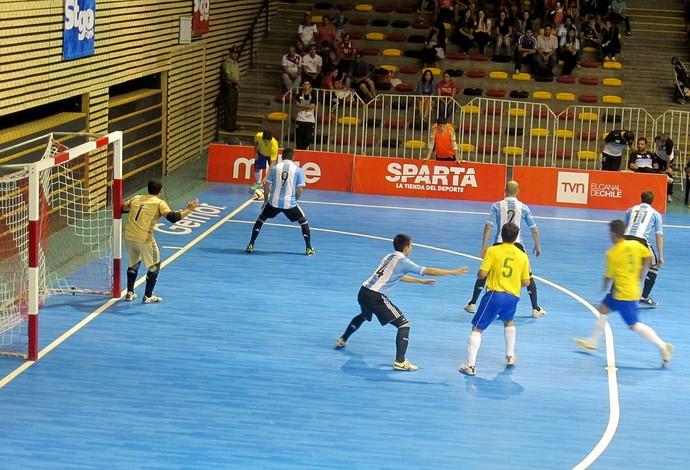 futsal Brasil e Argentina sul-americano chile (Foto: Marcello Pires)