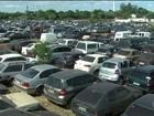 Mais de 8 mil veículos apreendidos apodrecem nos pátios da Receita