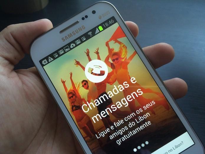 Novo recurso Siga-me, do Libon, permite receber chamadas sem sinal (Foto: Marvin Costa/TechTudo)