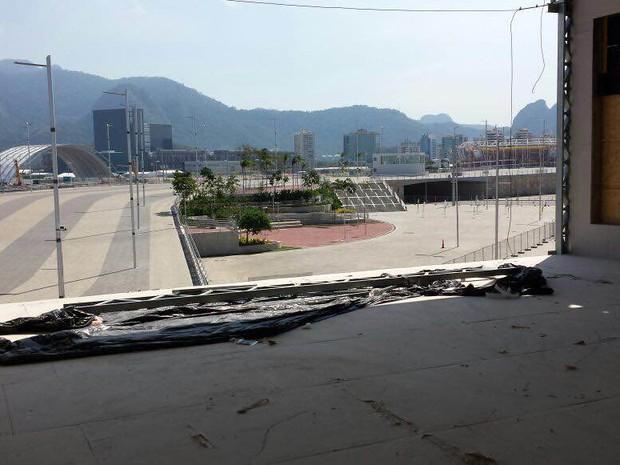 Obras são interditadas e embargadas na Vila dos Atletas  (Foto: Divulgação / MTE)