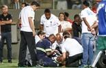 Hyuri leva pancada, vai para hospital, mas exame não aponta anormalidade (Bruno Cantini/Flickr do Atlético-MG)