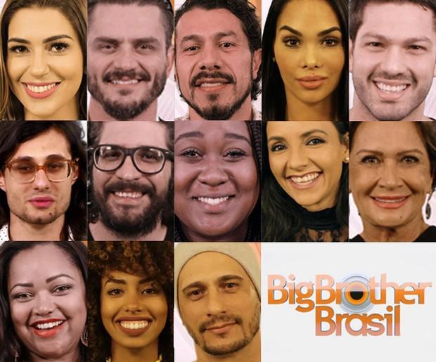 Participantes do BBB17 (Foto: Divulgação/Globo)